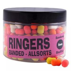 Ringers Banded Allsorts 100g Carp Fishing Bait Hook Lures