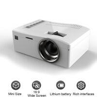 Full HD 1080P Mini Projector LED Multimedia Home Cinema Theater USB AV HDMI AB