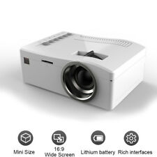 Full HD 1080P Mini Projektor LED Multimedia Heimkino Theater USB AV HD  Du