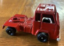 Vintage Tootsietoy Ford Cab for a Semi Tractor Red Truck