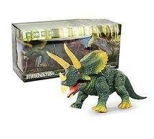 RC Triceratops Infrared Dinosaur Remote Control Light & Sound New