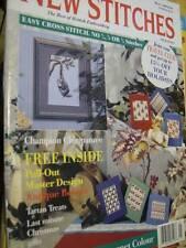 New Stitches Uk Magazine #21 Chimpanzee/Antique Bolster Cushion (Master Design)/
