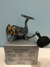 Daiwa LEXA 2500SH Spinning Reel, Great Condition With Upgraded Knob