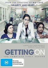Getting On : Season 1 (DVD, R4, 2014, Drama, Free Postage)