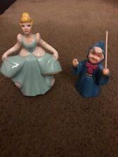 Disney Cinderella and Fairy Godmother Ceramic Figurine