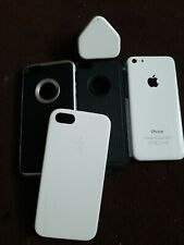 All White Apple iPhone 5C 16GB Unlocked read description