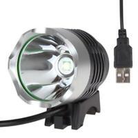 1Pcs Fahrrad Licht 1200Lm Lumen 3 Modi LED Fahrrad Licht Scheinwerfer mit U