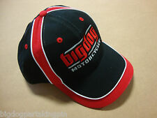 Big Dog Motorcycles Hat Adjustable Embroidered Logo Piping Design Pitbull K-9