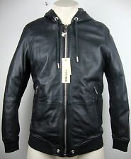 DIESEL L-AKURA 900 Leather Jacket Giacca di Pelle Uomo Black taglia M nuovo con etichetta