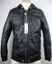 DIESEL L-AKURA 900 Leather Jacket Lederjacke Herren Black Gr.S NEU mit ETIKETT