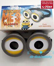 Girl Boy Kids Adult Minions Despite Me 3D Eye Glasses Goggle Party Costume Prop