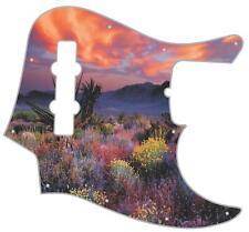 J Bass Pickguard Custom Fender Graphic Graphical Guitar Pick Guard Nevada Sunset