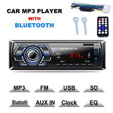 Bluetooth Car Stereo Audio In-dash FM Receiver Mp3 Player SD USB AUX Input 12v