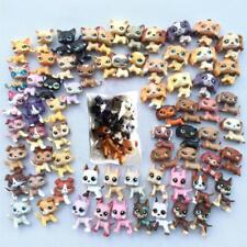 5pcs/Lot Littlest Pet Shop random rare LPS cat dog  toy cute Christmas gift