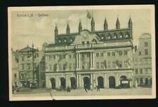 AK Rostock i.M., Rathaus, gelaufen 1910 (58632)