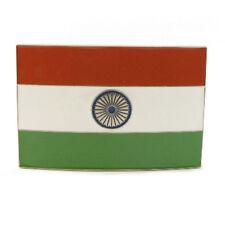 TIRANGA INDIAN FLAG BELT BUCKLE INDIA DESI HINDU PRIDE BOLLYWOOD FIT SNAP BELT