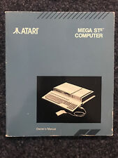 ATARI | MEGA STe COMPUTER | Owner´s Manual | Booklet for collector´s | RARE | EN