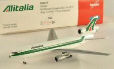 HERPA 534277 Aereo modello McDonnell Douglas DC-10-30 compagnia ALITALIA 1:500