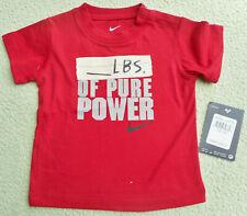 NIKE 🐯 Jungen T-Shirt  🐯 Baby 1 A Qualität 🐯 rot 🐯 62/68 🐯 NEU