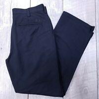 Under Armour UA Bent Grass 2.0 Pants Mens 32x30 Black Mid Straight Stretch J719