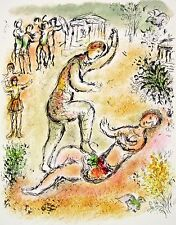 Combat Between Ulysses & Irus (The Odyessy), 1989 Limited Edition Litho, Chagall