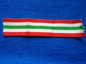 ORIGINAL BRITISH MILITARY ITALY STAR FULL SIZE MEDAL RIBBON, 14.5CM LONG