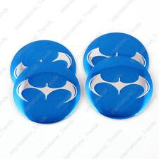 4PCS 56.5mm Batman Bat Aluminum Car Auto Wheel Center Hub Cap Emblems Stickers