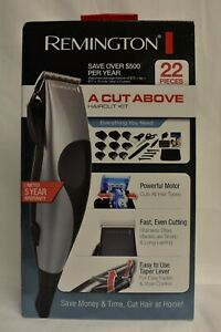 Remington HC80 A Cut Above 22 Piece Haircut Kit- Gray- New In Unopened Box