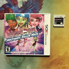Monster High: Skultimate Roller Maze - Nintendo 3DS - Free Shipping!