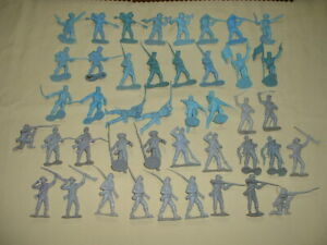 Vintage MARX 'Battle of the Blue & Gray' Rebel & Yankee Infantry