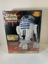 Star Wars Episode 1 R2-D2 3D Puzzle Beeps Whistles 708 Pieces Sealed