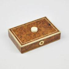 alter Schalter in Holzschachtel - Elektroschalter - Knopf - Holzkiste - Switch