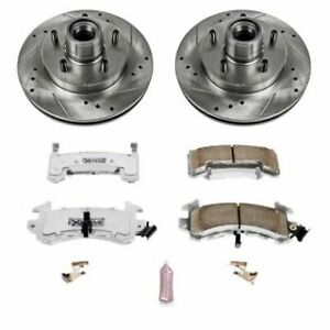 Power Stop Front Z26 Street Warrior Brake Kit for 82-87 Buick Regal