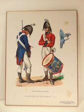 older military heritage laminated plaque: The Regiment of Artillerists - 1812