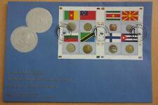 Münzen, Flaggen - UNO Wien - 1 FDC 2012