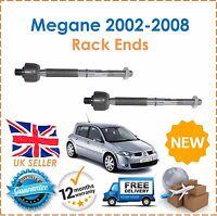 For Renault Megane 1.4 1.5DCi 1.6 2002-2008 Inner Tie Rod Steering Rack Ends
