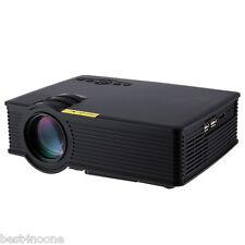 GP - 9 Mini Home Theater 2000 Lumens Multimedia HD LCD Projector USB HDMI AV EU