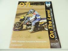 August 2007 BMW Motorcycle Magazine Husqvarna Montauk R1200CL F650GS L2373
