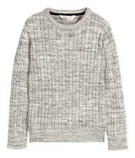 ஐ H&M Zopfstrick Pullover in Gr. 158 164  Grau Meliert Zopf  ஐ
