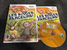 NINTENDO Wii : les singes farceurs 20 mini jeux