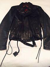 Hein Gericke Streetline Women's Motorcycle Jacket – Heavy Leather Size Small