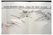 1887 Colquhoun - SOUTHERN CHINA - Railway - 2 Large Maps