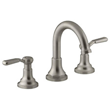 KOHLER Widespread Bathroom Faucet 8 in. 2-Handle in Vibrant Brushed Nickel
