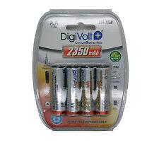4 x Bateria Recargable Pila Pilas AA 2350mAh 1.2V NiMH de Larga Duracion 3635