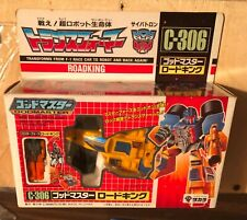 G1 Japanese Roadking Transformers MIB 1987 Takara C-306 Godmaster Vintage