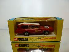 CORGI TOYS 277 MONKEEMOBILE - THE MONKEES  - RED 1:43 RARE - VERY GOOD IN BOX