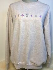 Vintage Women's Stardust Casino Embroidered Pullover Sz Large Las Vegas Lucky 7