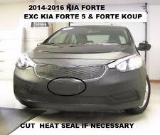 Lebra Front End Mask Cover Bra Fits Kia Forte 2014-2016 Exc. Forte5 & Forte Koup