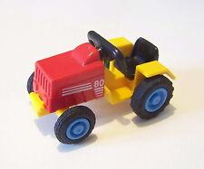 PLAYMOBIL (T4102) FERME - Tracteur Rouge & Jaune pour Enfant Ranch Equestre