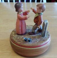 Reuge The Anniversary Waltz Switzerland Music Box - ANRI Figurines